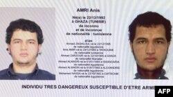 Підозрюваний у нападі в Берліні Аніс Амрі