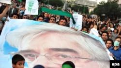 عکس مربوط به اجتماع چهارشنبه ۲۷ خرداد هواداران آقای موسوی است