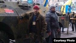 Іван Стасюк на Майдане ў Кіеве