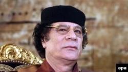 Муаммар Каддафі, архівне фото