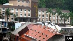 طوفان و سیل در تایوان صدها کشته بر جای گذاشت