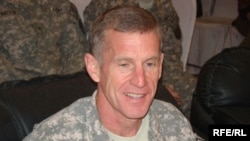 "Afghanistan commander General Stanley McChrystal called Obama's pledge of reinforcements ""the end of the beginning"" of the war."