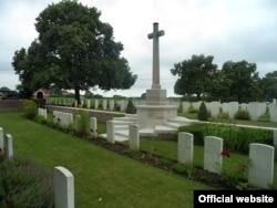 Приклад планування сектору військових поховань