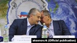 Сергей Аксенов и глава МИД России Сергей Лавров, август 2016 года