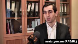 Руководитель фракции «Елк» в Совете старейшин Еревана Давид Хажакян, Ереван, 2 августа 2018 г.