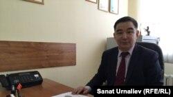 Роман Бисенгалиев, председатель общественного совета города Уральска. 29 марта 2016 года.