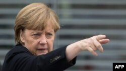 German Chancellor Angela Merkel says Russia needs an active civil society to flourish.
