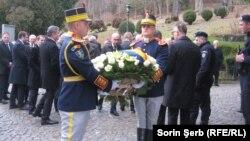Funeraliile Regelui Mihai, Castelul Peleș, Sinaia 13 dec 2017