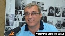 Oldrich Andrysek în Biroul Europei Libere la Chișinău