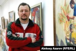 «Ұмай» галереясының директоры Юрий Маркович. Алматы, 13 ақпан 2013 жыл.