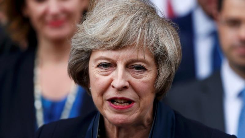 тереза мэй исключила начало выхода британии