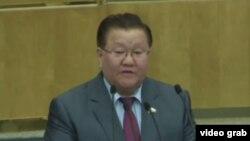 Fedot Tumusov in the State Duma in 2018