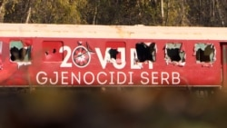 Memorial To Kosovo's War Vandalized Near North Macedonia Border