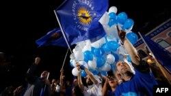 Վրաստան - «Վրացական երազանք»-ի աջակիցները տոնում են հաղթանակը ընտրություններում, Թբիլիսի, 8-ը հոկտեմբերի, 2016թ․