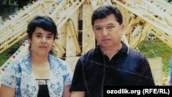 Prezidentning amakivachchasi Abbos Mirziyoev va uning sobiq xotini Nargiza Jumaeva. (Suratni Ozodlikka Nargiza Jumaevaning yaqinlari taqdim etdi)