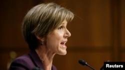 Бывший генеральный прокурор (и министр юстиции) США Салли Йейтс.
