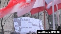 Москва, Пушкинская площадь, 5 марта 2012