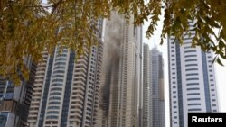 Požar u neboderu u Dubaiju, 20. juli 2016.