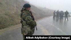 Пограничники Кыргызстана. Иллюстративное фото.