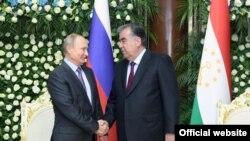 Владимир Путин ва Эмомалӣ Раҳмон