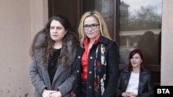 Биляна Петрова и Десислава Иванчева пред спецсъда
