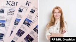 Кандидатка в депутати від «Слуги народу» Олена Мошенець продовжувала співкерувати газетою Арбузова під час і після Революції Гідності