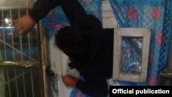 Подозреваемый в попытке кражи. Фото ГУВД Чуйской области.