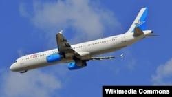 Airbus A321 в ливрее авиакомпании Metrojet