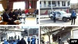 سفر والری آموس، مسئول امور انسانی در سازمان ملل متحد به شهر حمص،