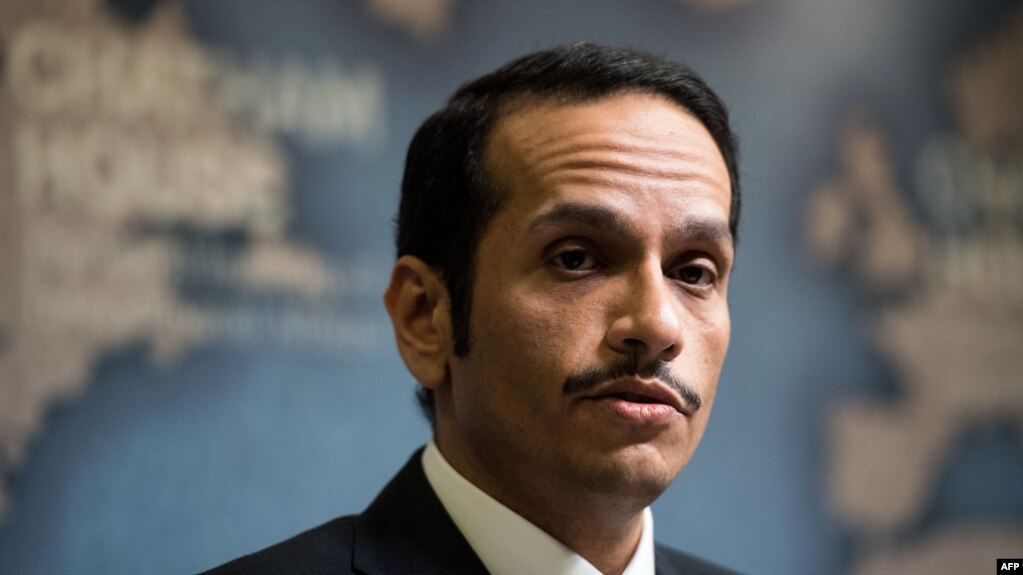 Qatari Foreign Minister Sheikh Muhammad bin Abdulrahman al-Thani has discussed the move with his Iranian counterpart. (file photo)