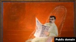 """გ. რუბლიოვი: """"ი.ბ. სტალინის პორტრეტი"""". 1935"""
