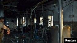 Оштетено одделение во болницата во Саудиска Арабија