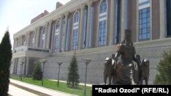 Здание Национального музея Таджикистана