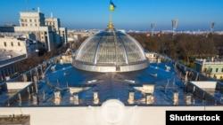Купол на здании украинского парламента