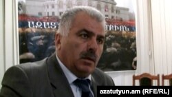 «Ժողովրդավարական հայրենիք» կուսակցության առաջնորդ Պետրոս Մակեյան