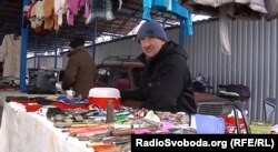 Анатолій, продавець на блошиному ринку в Донецьку