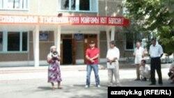 Ноокен райондук акимчлигинин имараты, 29-август, 2010-жыл.