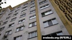Дом № 19 па вуліцы Гагарына, дзе адбылося здарэньне