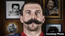 "Кампания Movember в хоккейной команде КХЛ ""Лев"" (Прага). Фото с сайта www.levpraha.cz"