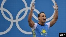 Илья Ильин Лондон олимпиадасында. 4 тамыз 2012 жыл.