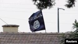 Прапор угруповання «Ісламська держава», ілюстраційне фото
