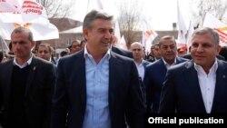 Armenia - Prime Minister Karen Karapetian visits the Ararat province, 22Mar2017.