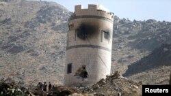 В Йемене повстанцы-хуситы захватили казармы президентской охраны (Сана, 20 января 2015 года)