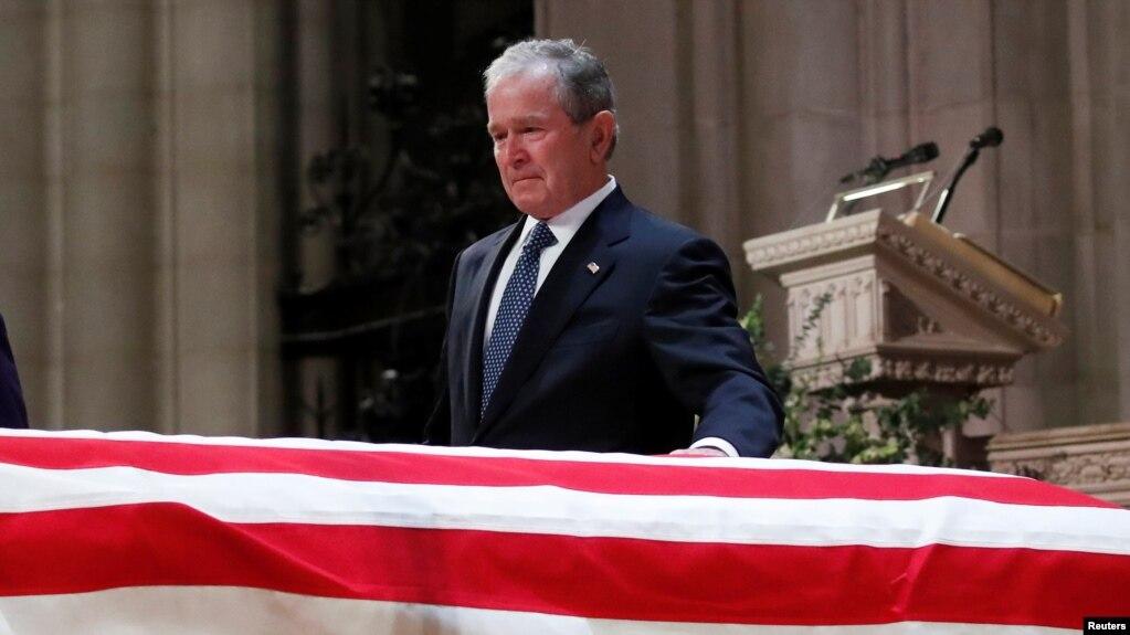 В Вашингтоне простились с 41-м президентом США