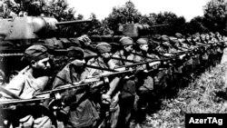 Azərbaycanlılardan təşkil olunmuş 416-cı diviziya Qafqazdan Berlinədək döyüş yolu keçib.