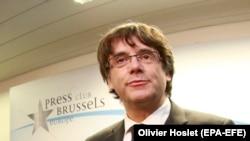 Carles Puigdemont në Bruksel