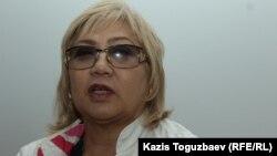 Розлана Таукина, правозащитник и журналист.