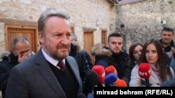 Bakir Izetbegovic, the Muslim Bosniak member of Bosnia-Herzegovina's tripartite presidency. (file photo)