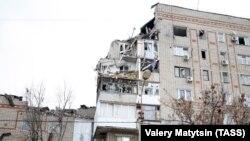 Жарылыстан қираған көпқабатты үй. Шахты қаласы, Ресей, 14 қаңтар 2019 жыл.