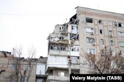 Взрыв в городе Шахты